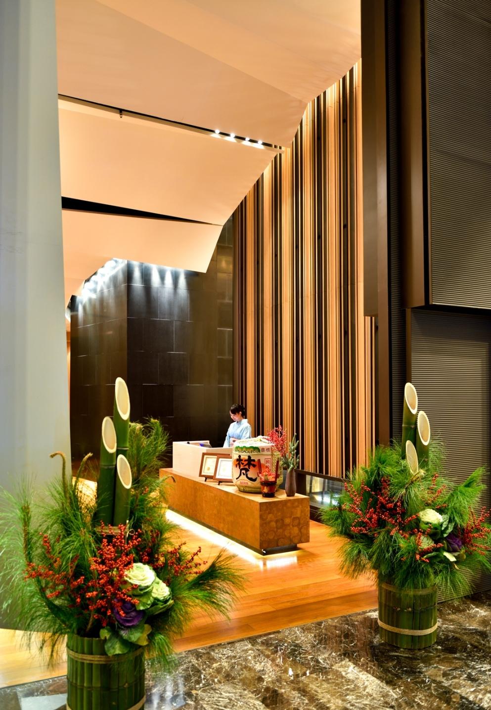 Yamazato_Traditional Kadomatsu (Bamboo)