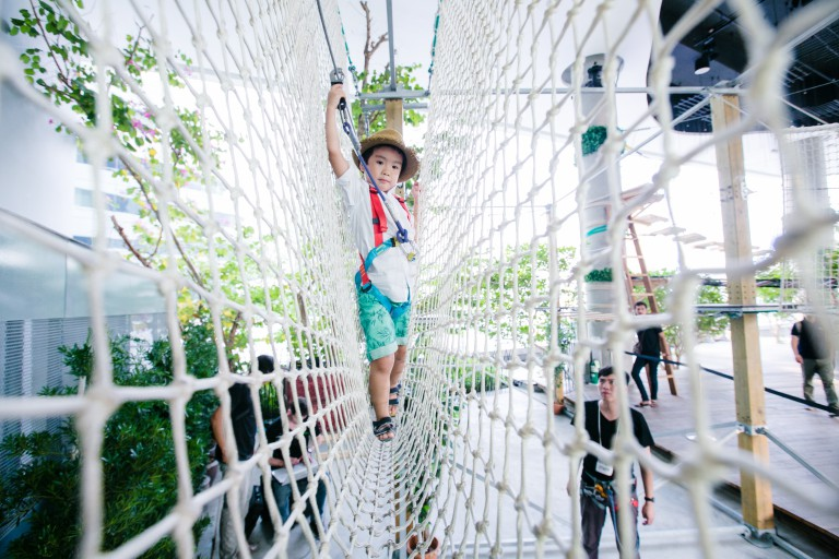 Rope Course 1