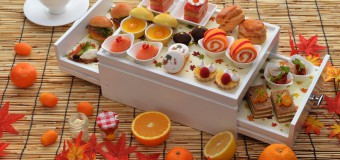 Join Friends for Autumn Orange Afternoon Tea at Up & Above Bar at The Okura Prestige Bangkok