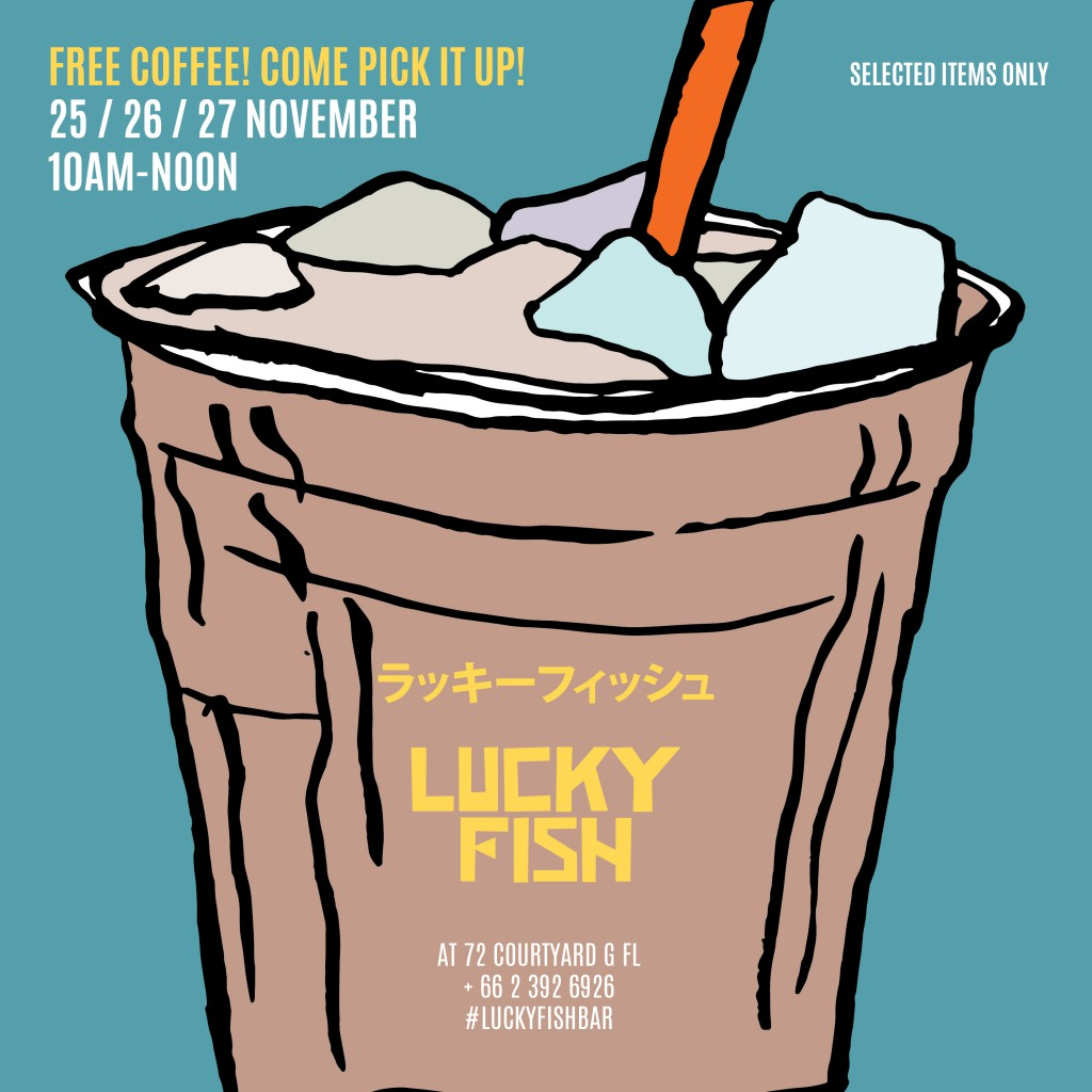 free-coffee-at-lucky-fish