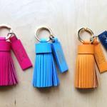 Leather Workshop - _Nymph_ key ring_01