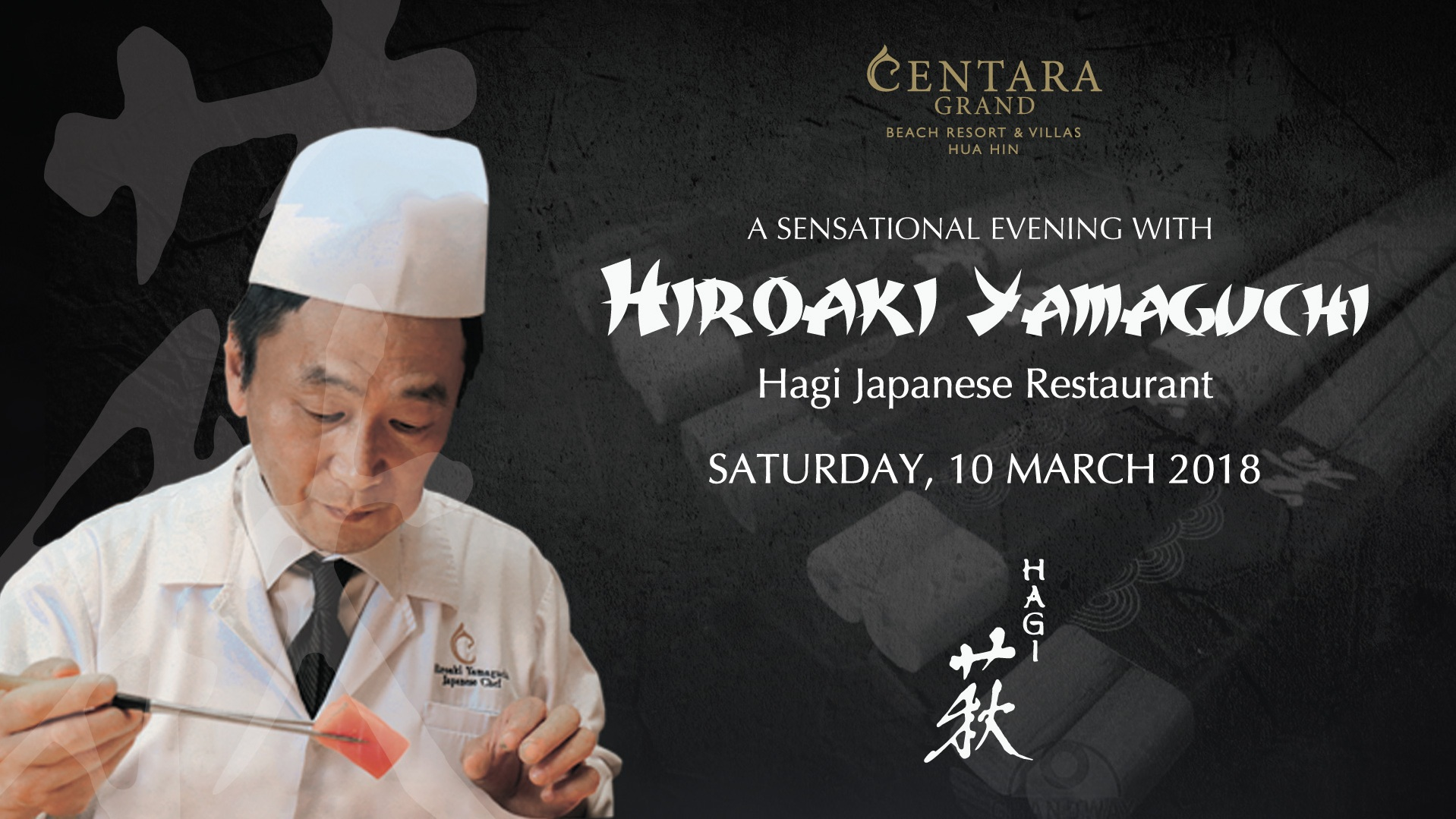 2. A SENSATIONAL EVENING WITH JAPANESE FLAIR AT CENTARA GRAND BEACH RESORT AND VILLAS HUA HIN 01