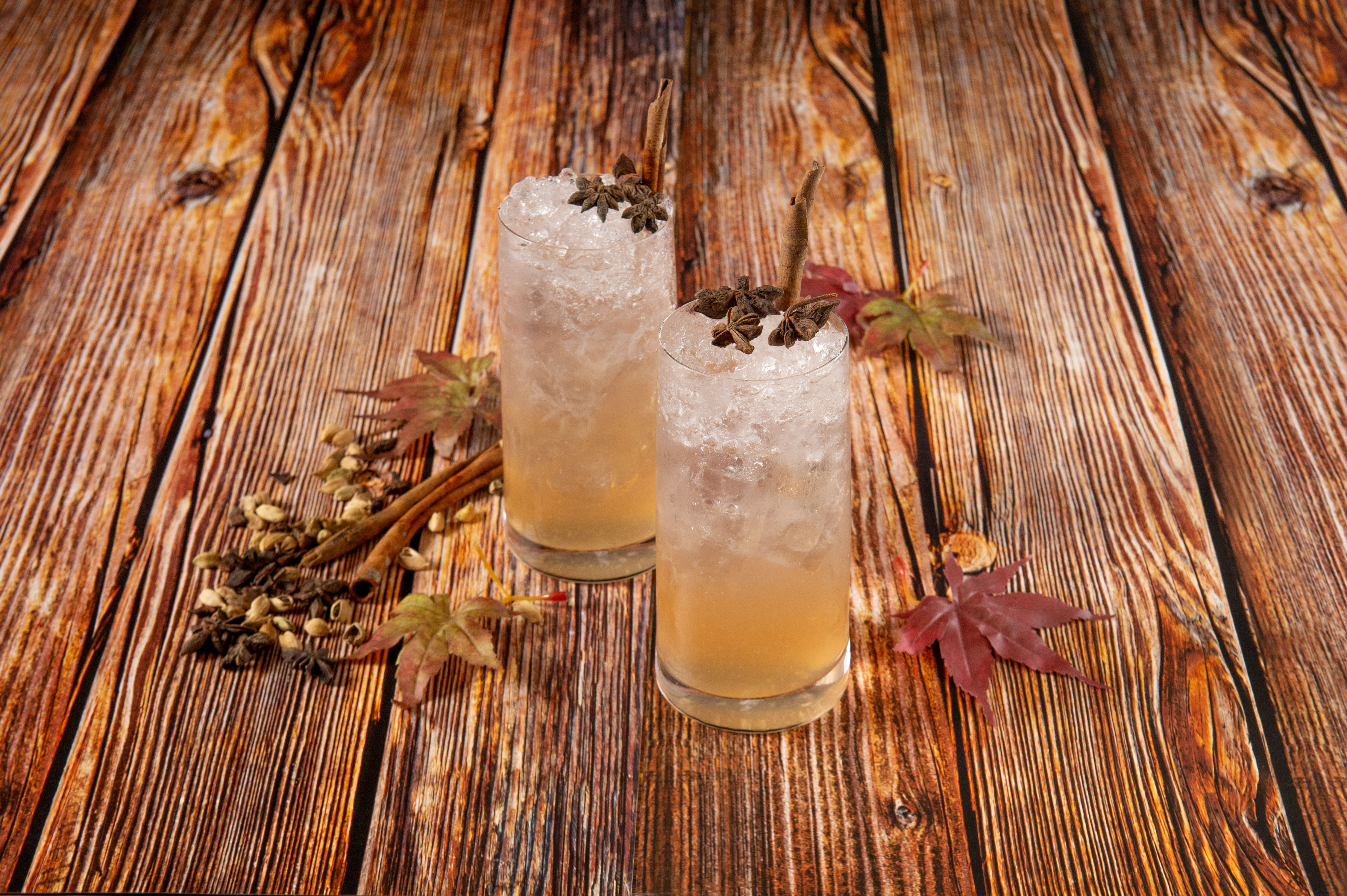 Up & Above Bar Autumn Beverage Promotion