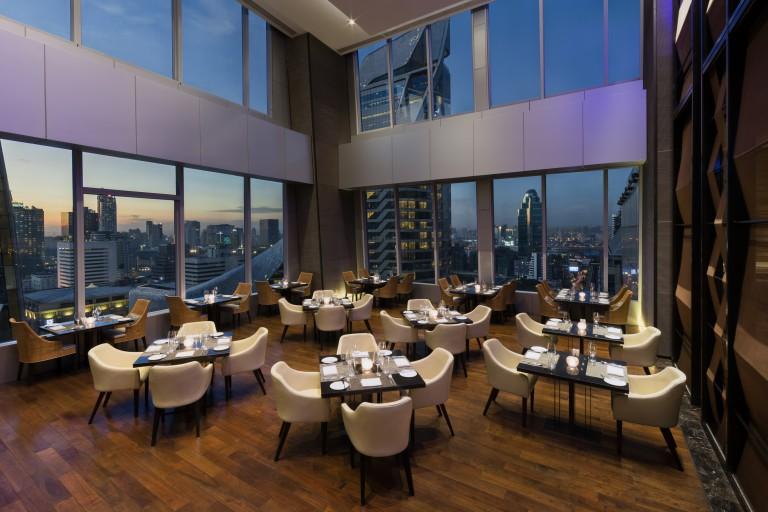 Up & Above Restaurant (Night)_ 1