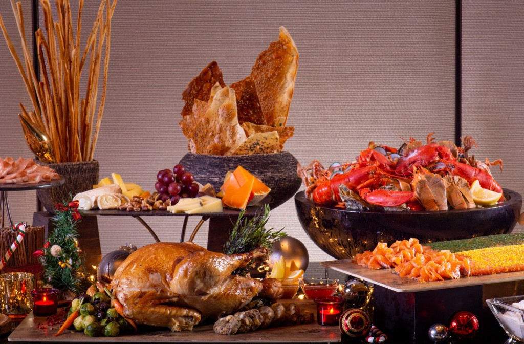Up & Above_Christmas Buffet_1