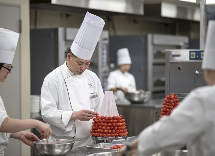 Chef Ibuki Matsumoto