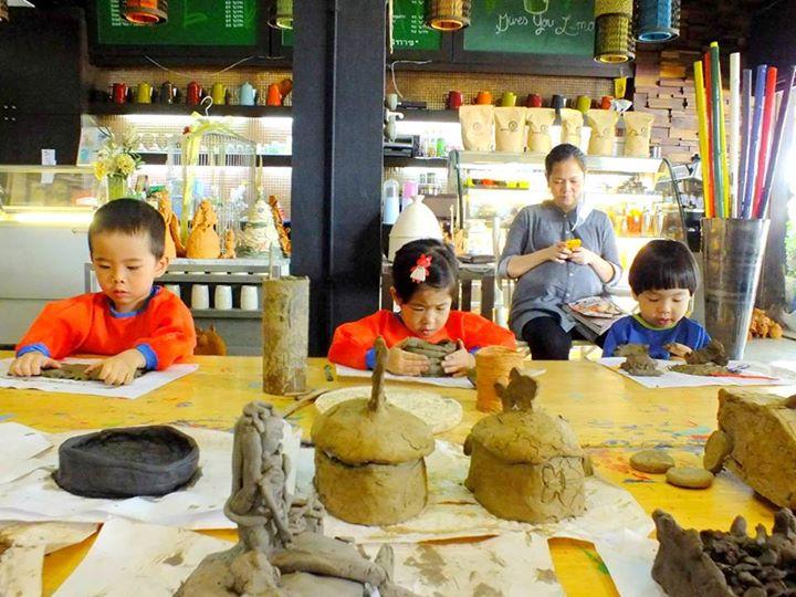 バンコクで陶芸教室 Kidsmatter 無料体験クラス実施中!