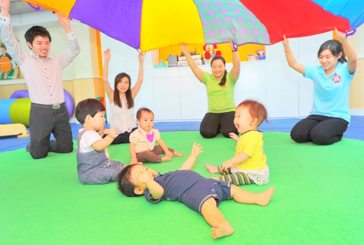 0歳から5歳までの幼児教室『GYMBOREE』