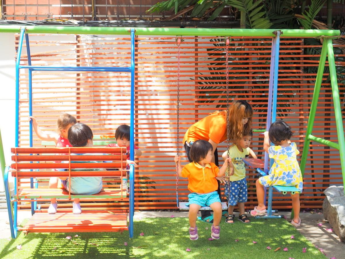 【ナーサリー】日本人にも大人気!タイ語・英語のバイリンガル教育『リトルメープル保育園』