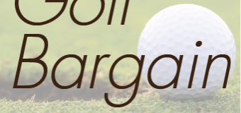 11月の伊勢丹 各階フェアのお知らせ 『Golf Bargain』