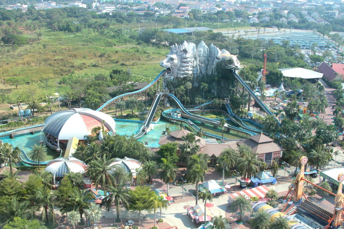 タイの遊園地の魅力発見!「サイアムパークシティ」へGo!