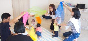 乳幼児からでも始められるミュージックスクール! リズムに乗りながら親子の触れ合いができる!