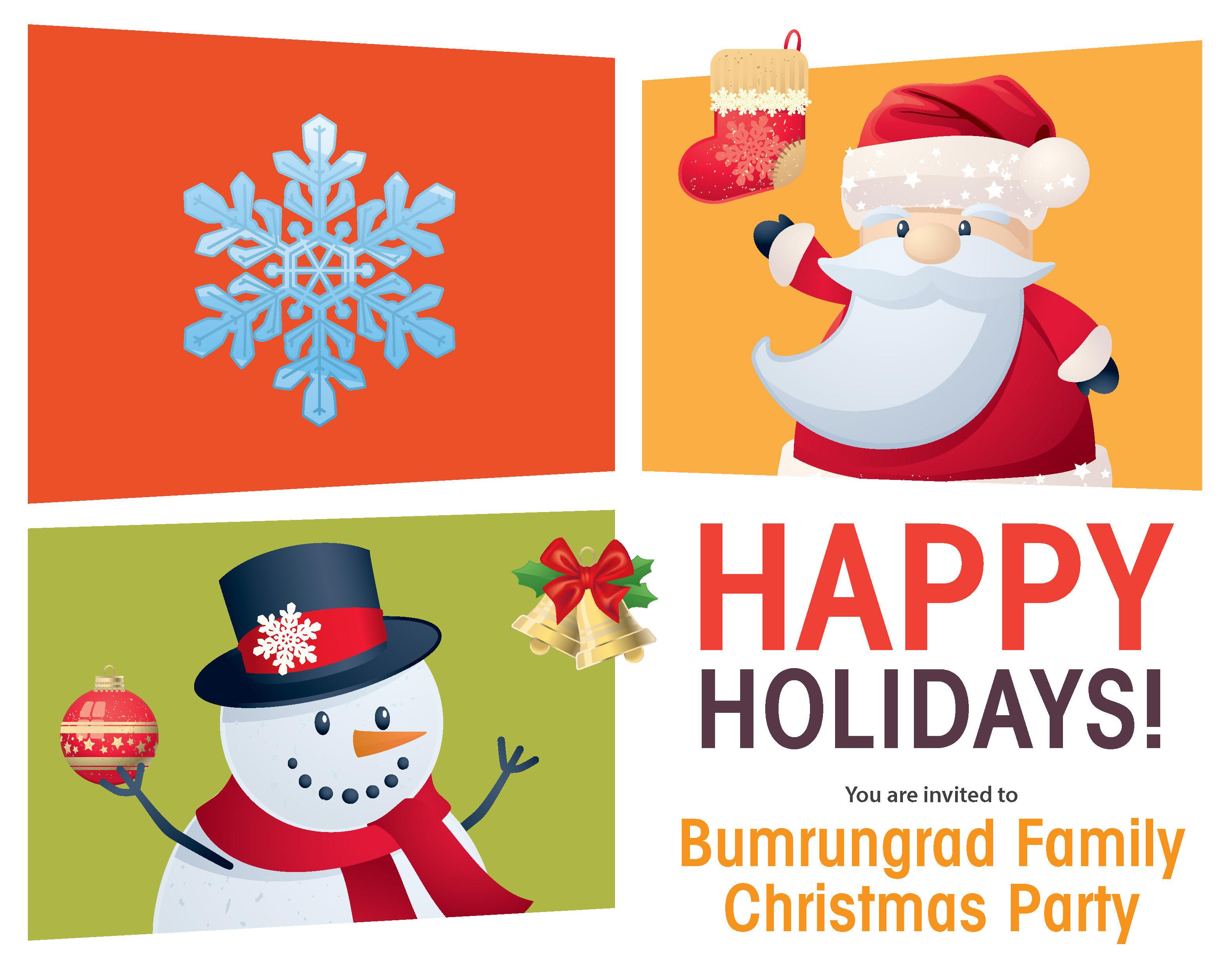 12月1日(土)は、バムルンラード病院の『ファミリークリスマスパーティー』
