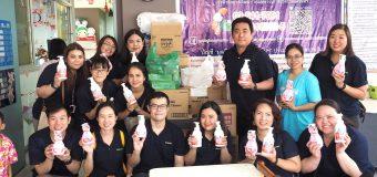 【教育CSRレポート】消毒剤・洗浄剤メーカーのサラヤ株式会社タイ法人が、バンコクの孤児院を訪問