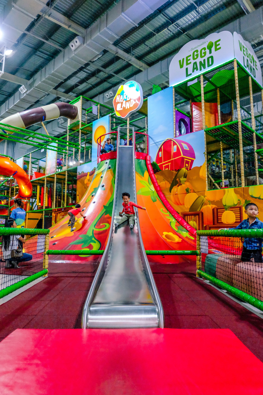 世界でもトップ5の広さを誇る子どものための屋内施設!! 『MEGA HarborLand』 メガ・バンナー店